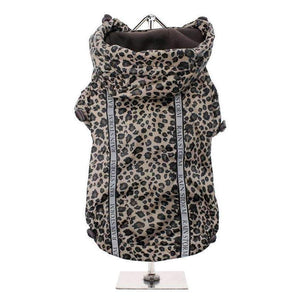 Leopard Rainstorm Dog Rain Coat - Posh Pawz Fashion