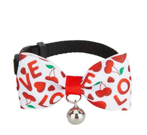 Love Handmade Bow Tie Cat Collar - Posh Pawz Fashion