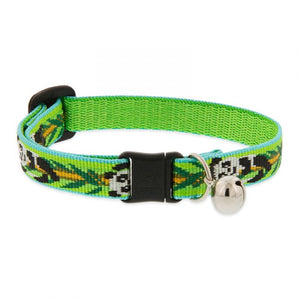 Panda Land Woven Cat Safety Collar - Posh Pawz Fashion