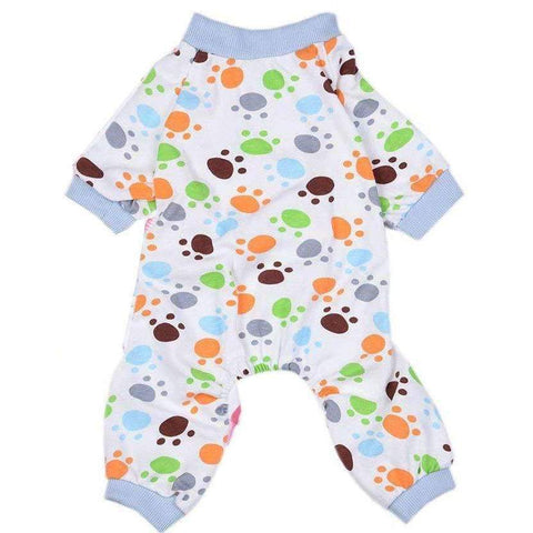 Paw Prints Onesie Dog Pyjamas - Posh Pawz Fashion