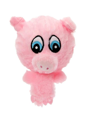 Porky The Pig Plush And Squeaky Dog Toy - Posh Pawz Fashion