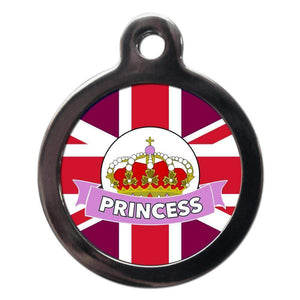 Royal Princess Dog ID Tag - Posh Pawz Fashion