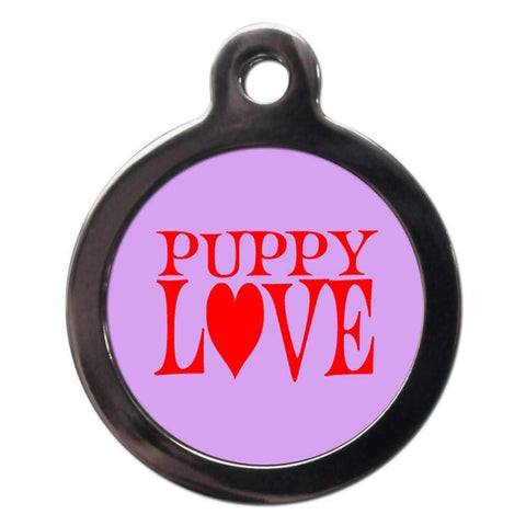 Puppy Love Dog ID Tag - Poochie Fashion