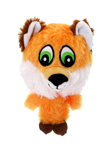 There'd Fox Plush And Squeaky Dog Toy - Posh Pawz Fashion
