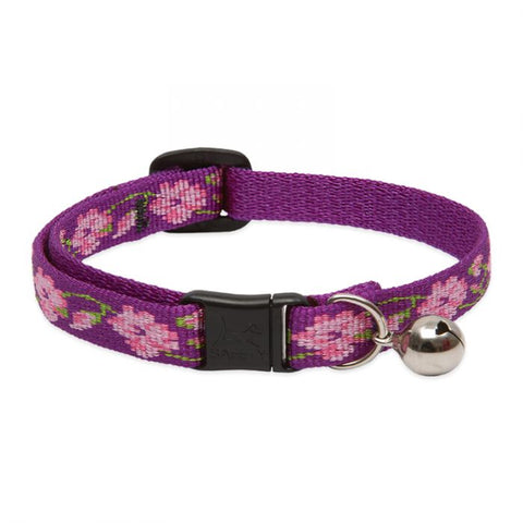 Rose Garden Woven Cat Safety Collar - Posh Pawz Fashion