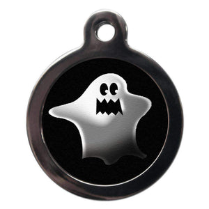 Scary Ghost Dog ID Tag - Poochie Fashion