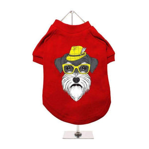 Schnauzer Dog T-Shirt - Posh Pawz Fashion