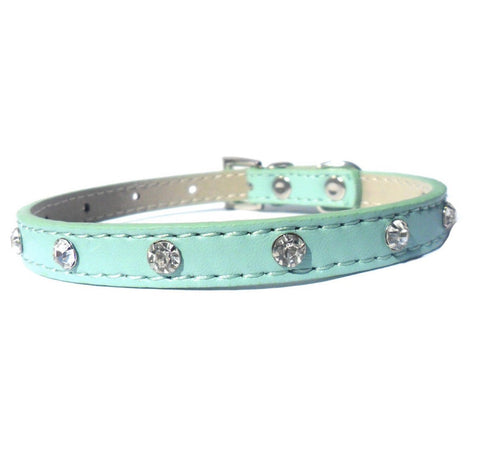 blue-slim-crystal-dog-collar-posh-pawz-fashion