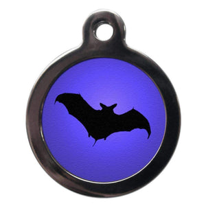 Spooky Bat Dog ID Tag,Poochie Fashion