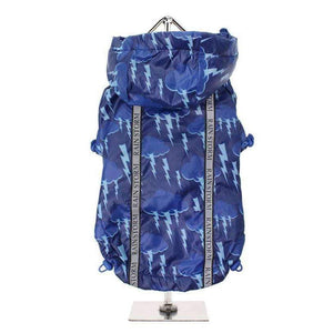 Storm Print Rainstorm Dog Rain Coat - Posh Pawz Fashion