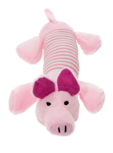 This Little Piggy Plush And Squeaky Dog Toy - Posh Pawz Fashion