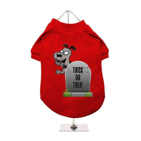 Halloween Tombstone Dog T-Shirt - Posh Pawz Fashion