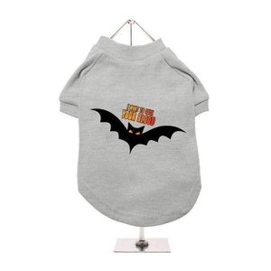 Halloween Vampire Bat Dog T-Shirt - Posh Pawz Fashion