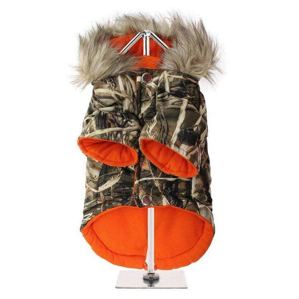 Wetlands Camo Parka Dog Coat2 - Posh Pawz Fashion
