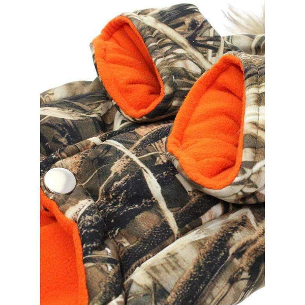 Wetlands Camo Parka Dog Coat3 - Posh Pawz Fashion