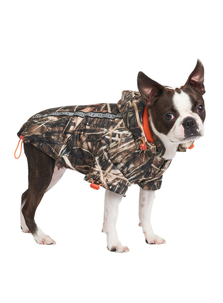 Wetlands Camouflage Rainstorm Dog Rain Coat - Posh Pawz Fashion