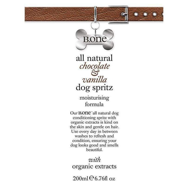 All Natural Chocolate & Vanilla Dog Spritz - Posh Pawz Fashion