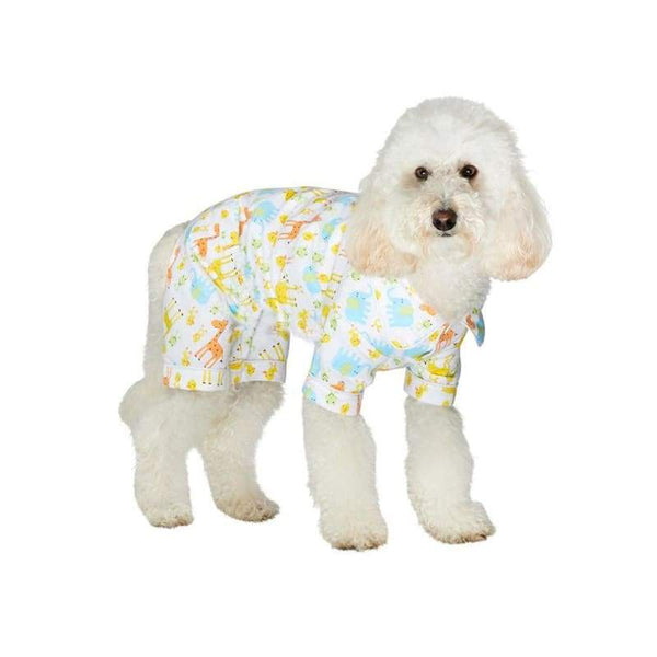 Animal Print Bedtime Dog Pyjamas - Posh Pawz Fashion