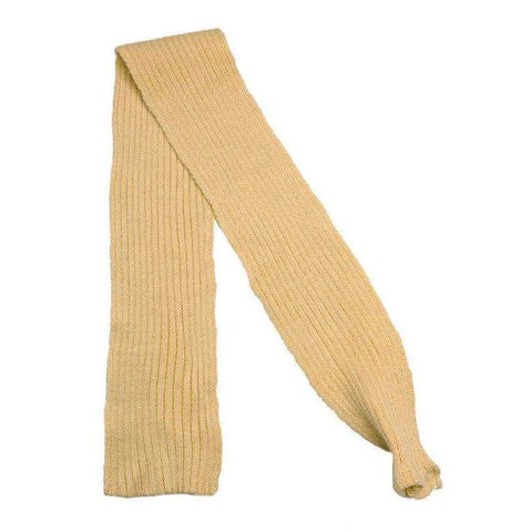 Beige Knitted Dog Scarf - Posh Pawz Fashion