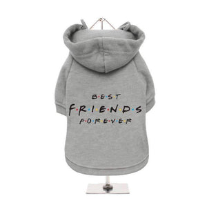 Best Friends Forever Dog Hoodie Sweatshirt - Posh Pawz Fashion