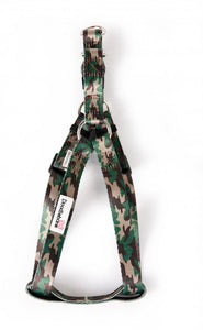 Bold Camouflage Adjustable Dog Harness - Posh Pawz Fashion