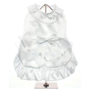 Bride Dog Wedding Dress With Veil - Posh Pawz Fashion
