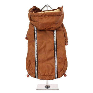 Bronze Rainstorm Dog Raincoat - Posh Pawz Fashion