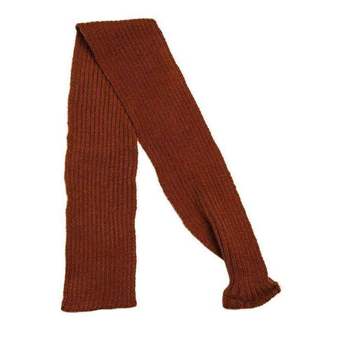 Brown Knitted Dog Scarf - Posh Pawz Fashion