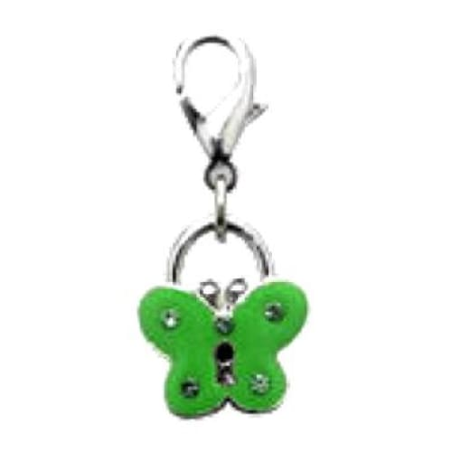 Butterfly Collar Charm - Posh Pawz Fashion