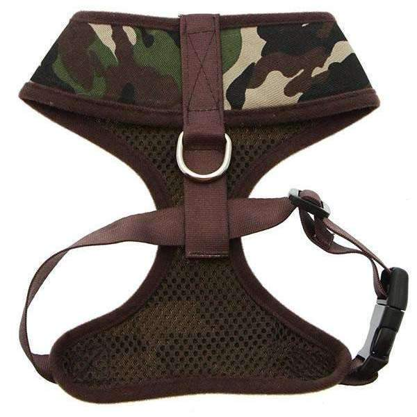 Camouflage Dog Harness3 - Posh Pawz Fashion