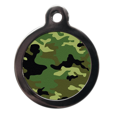 Camouflage Dog ID Tag - Posh Pawz Fashion