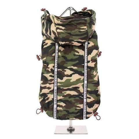 Camouflage Rainstorm Dog Raincoat - Posh Pawz Fashion