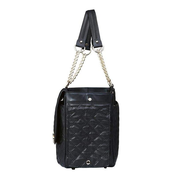 Coco Black Dog Carrier - Posh Pawz Fashion