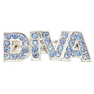 Diva Swarovski Dog Hair Clip Blue Crystals - Posh Pawz Fashion