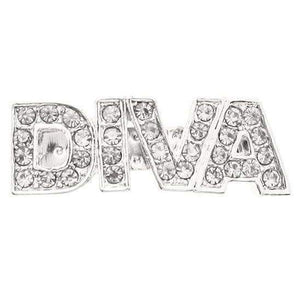 Diva Swarovski Dog Hair Clip Clear Crystals - Posh Pawz Fashion