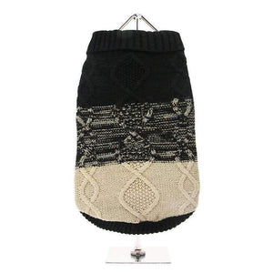 Donegal Black and Brown Dog Jumper - Posh Pawz Fashion