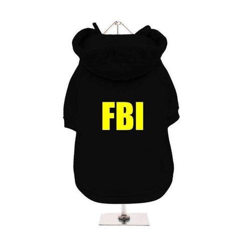 FBI Dog Hoodie Sweatshirt - Posh Pawz Fashion