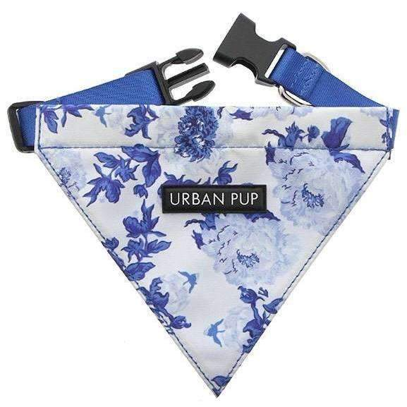 Floral Bouquet Fabric Dog Bandana - Posh Pawz Fashion