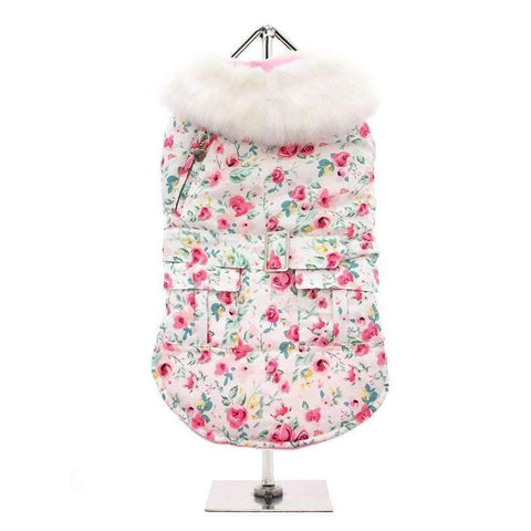 Floral Cascade Dog Coat - Posh Pawz Fashion