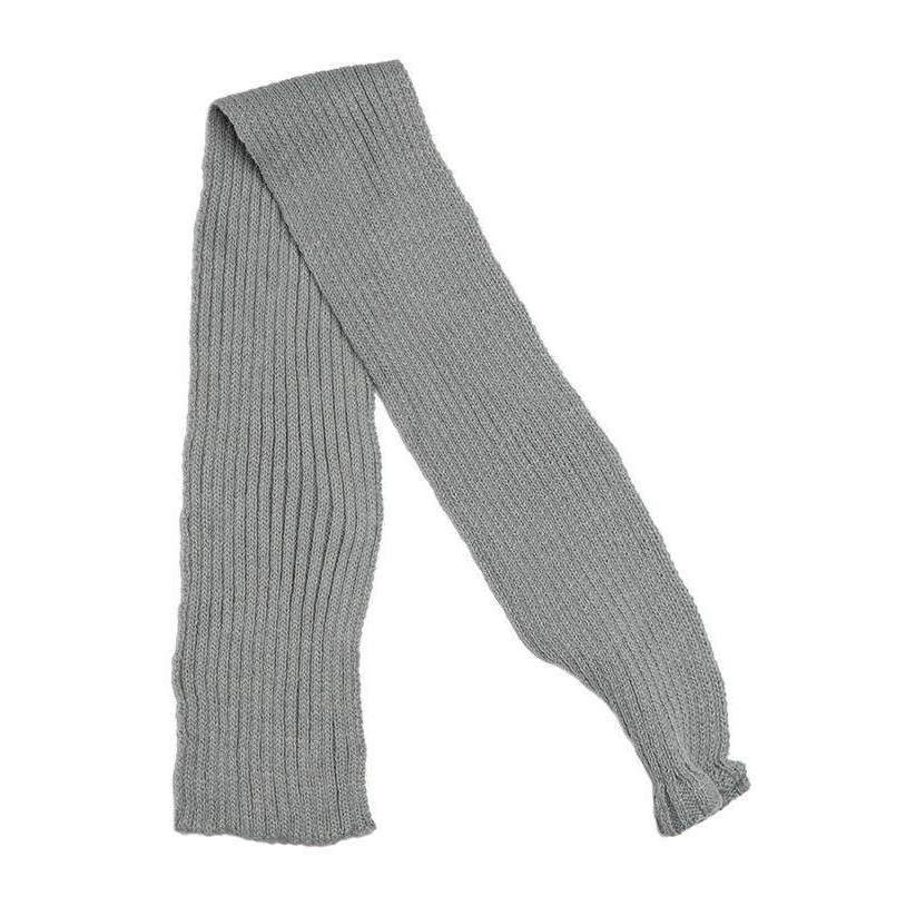 Grey Knitted Dog Scarf - Posh Pawz Fashion