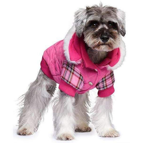 Highland Lady Quilted Tartan Dog Coat - Posh Pawz Fashion