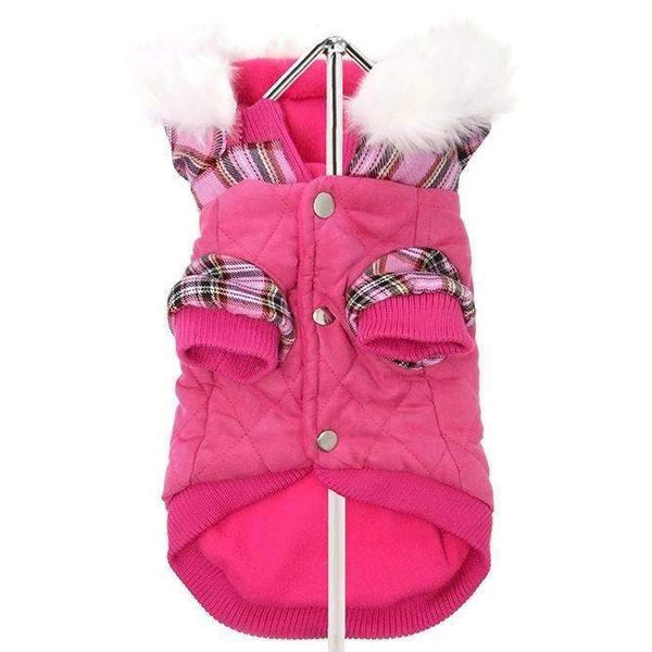Urban Pup Highland Lady Quilted Tartan Dog Coat - Posh Pawz Fashion