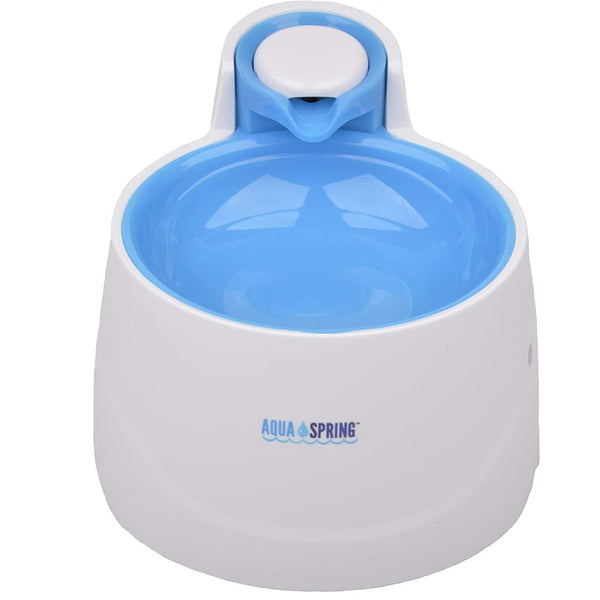 Illuminated Pet Water Fountain in Blue - Posh Pawz Fashion