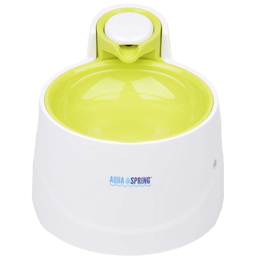 Illuminated Pet Water Fountain in Lime - Posh Pawz Fashion