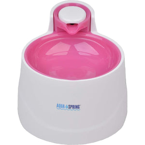 Illuminated Pet Water Fountain in Pink - Posh Pawz Fashion