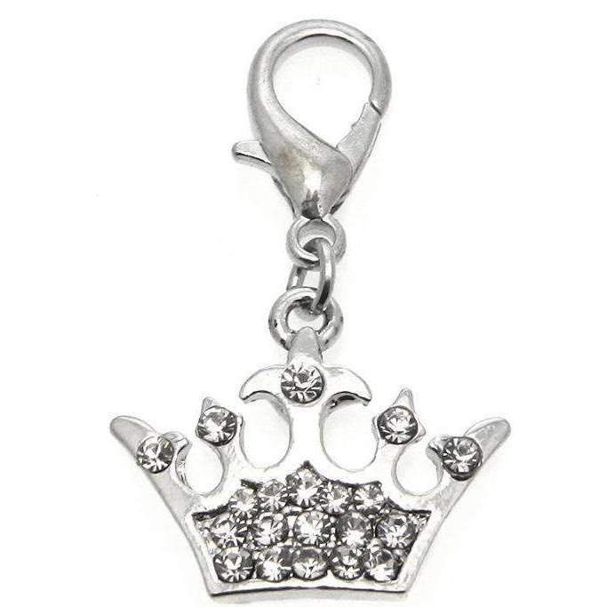 Imperial Crown Dog Collar Charm - Posh Pawz Fashion