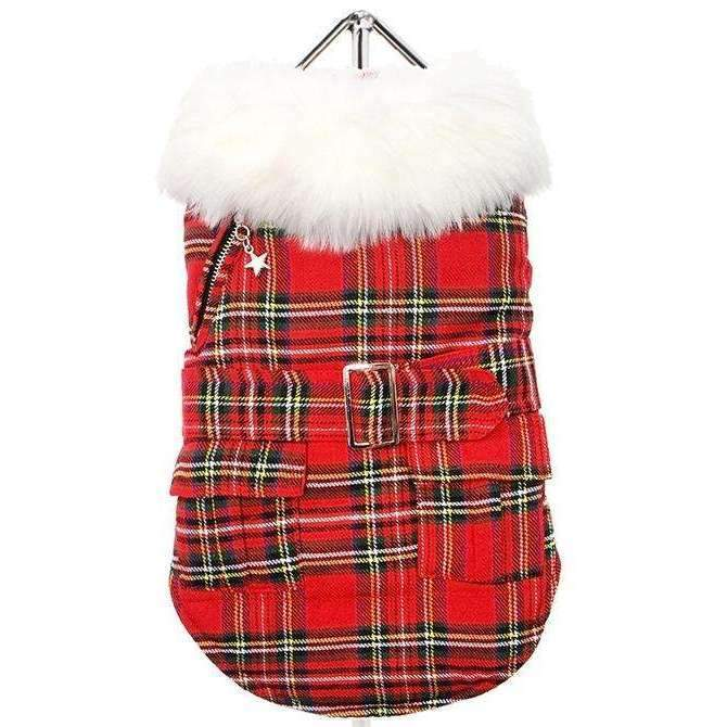 MacGregor Quilted Tartan Dog Coat - Posh Pawz Fashion