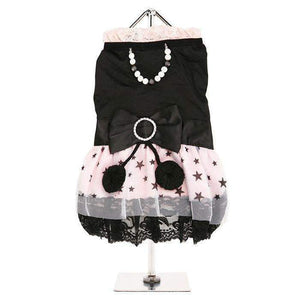 Midnight Stars Dog Dress - Posh Pawz Fashion
