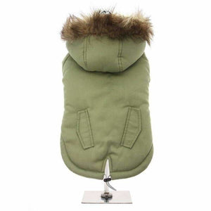 Mod Fishtail Dog Parka Coat - Posh Pawz Fashion