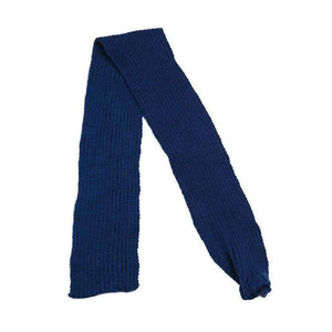 Navy Blue Knitted Dog Scarf - Posh Pawz Fashion